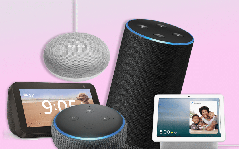 Black Friday Amazon Echo et Google Home 2019