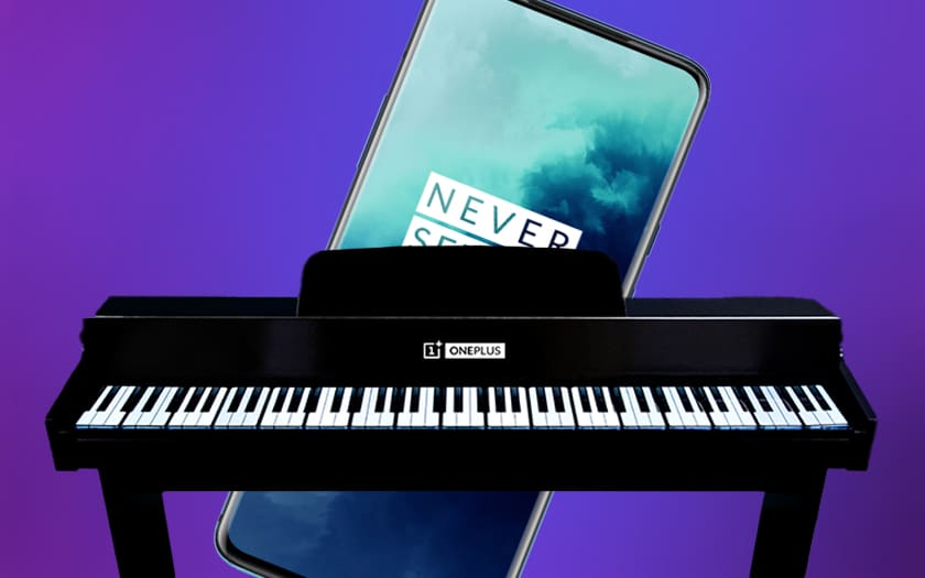 Piano OnePlus et OnePlus 7T Pro