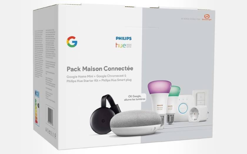 pack Philips Hue Home avec 7 accessoires