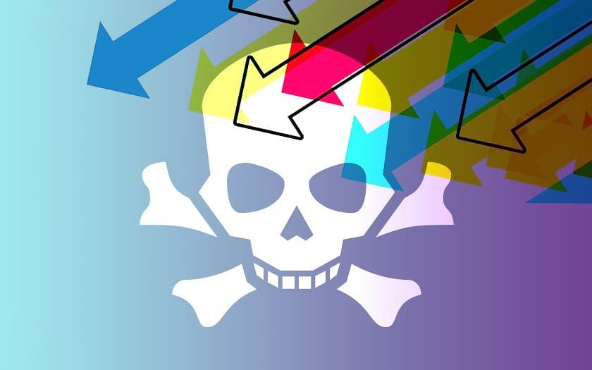 Piratage téléchargement illégal IPTV