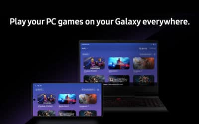 pc et smartphone avec interface PlayGalaxy