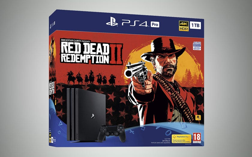 PS4 Pro 1 To + Red Dead Redemption 2 Black Friday