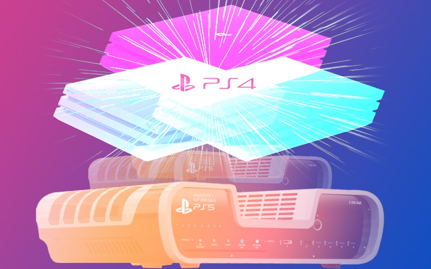 PS5 évolution PS4