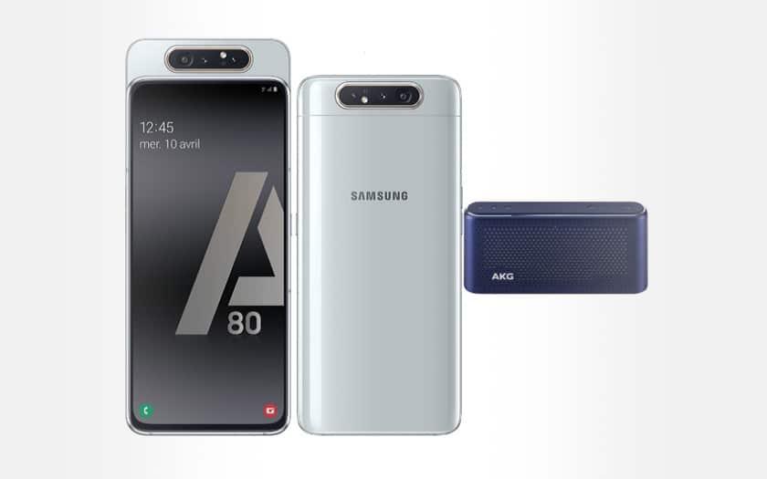 samsung galaxy A80 + enceinte akg s30