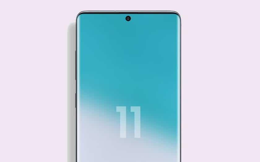 Samsung Galaxy S11 : trou dans l'écran