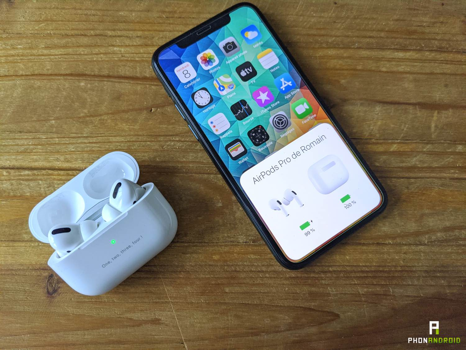 test airpods pro appairage 2