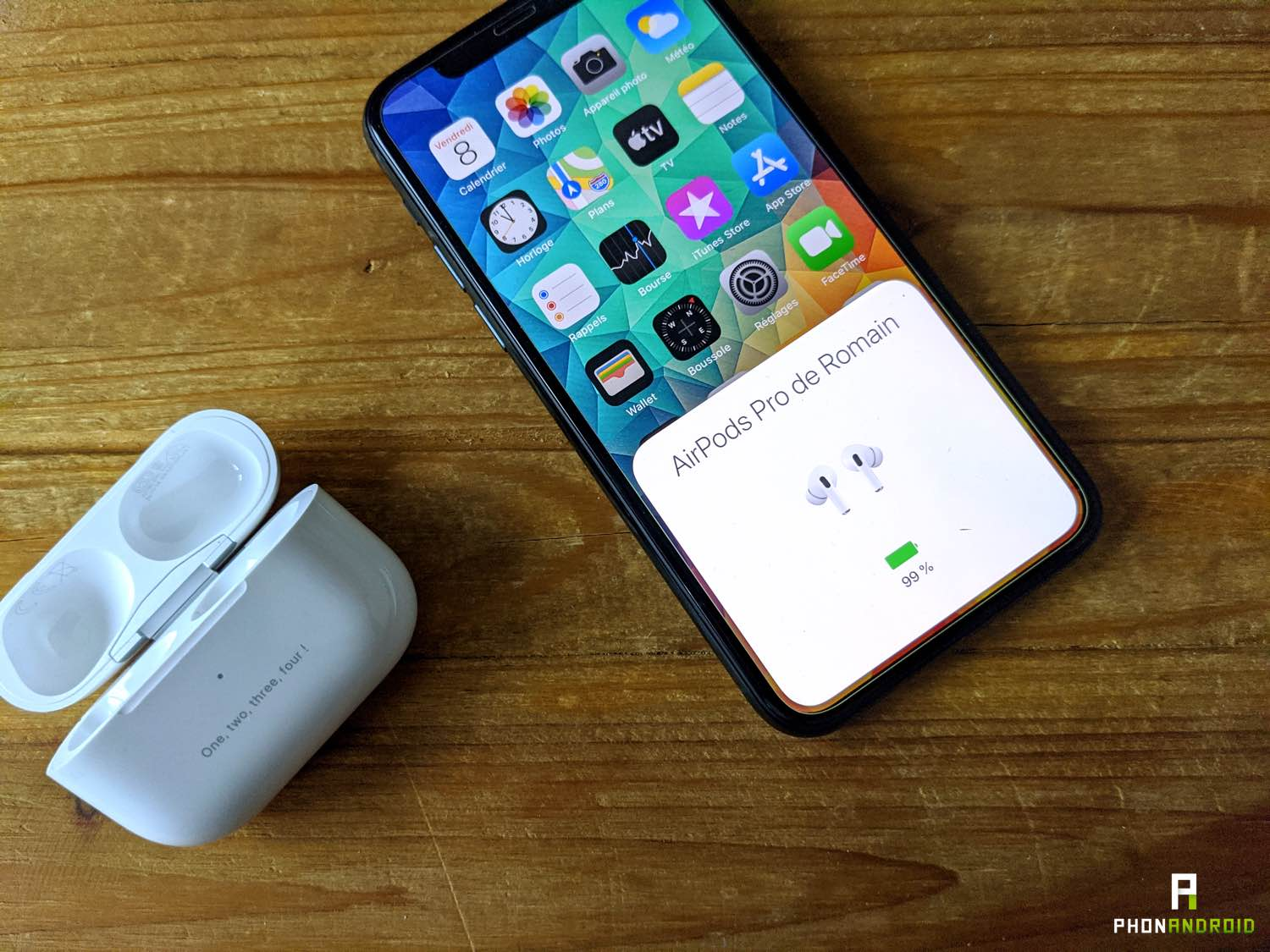 test airpods pro appairage 3