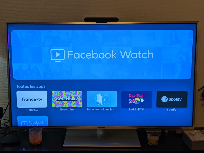 test facebook portal tv watch