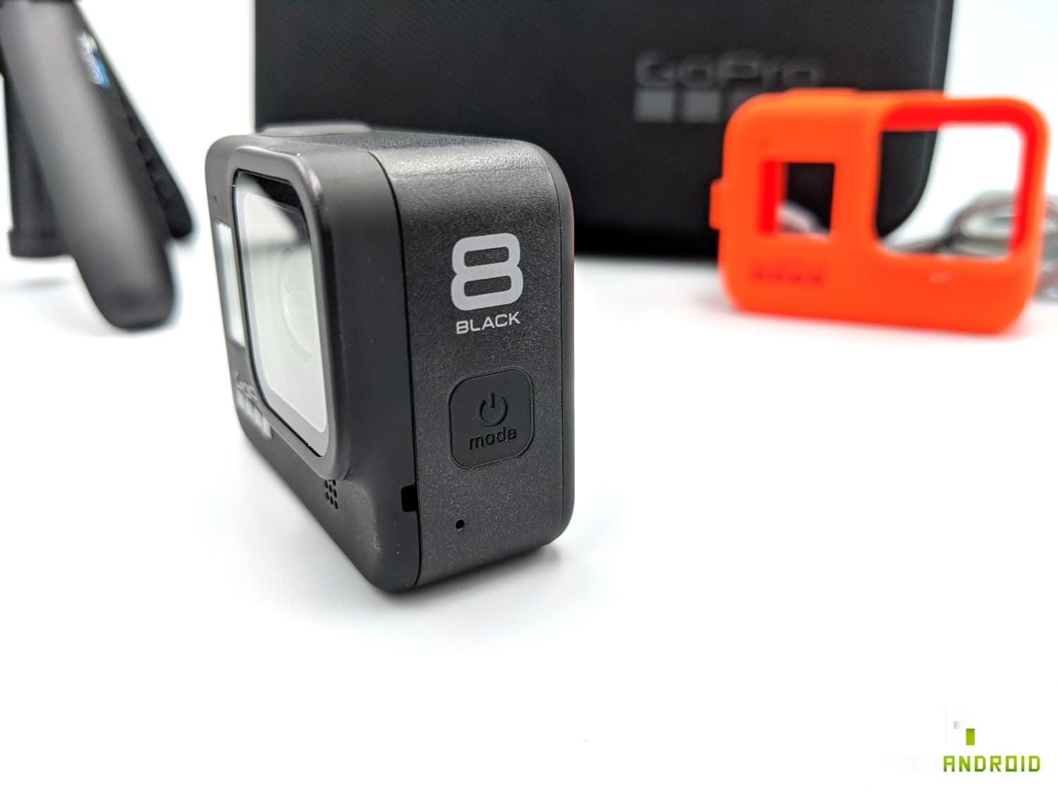 test gopro hero 8 bouton