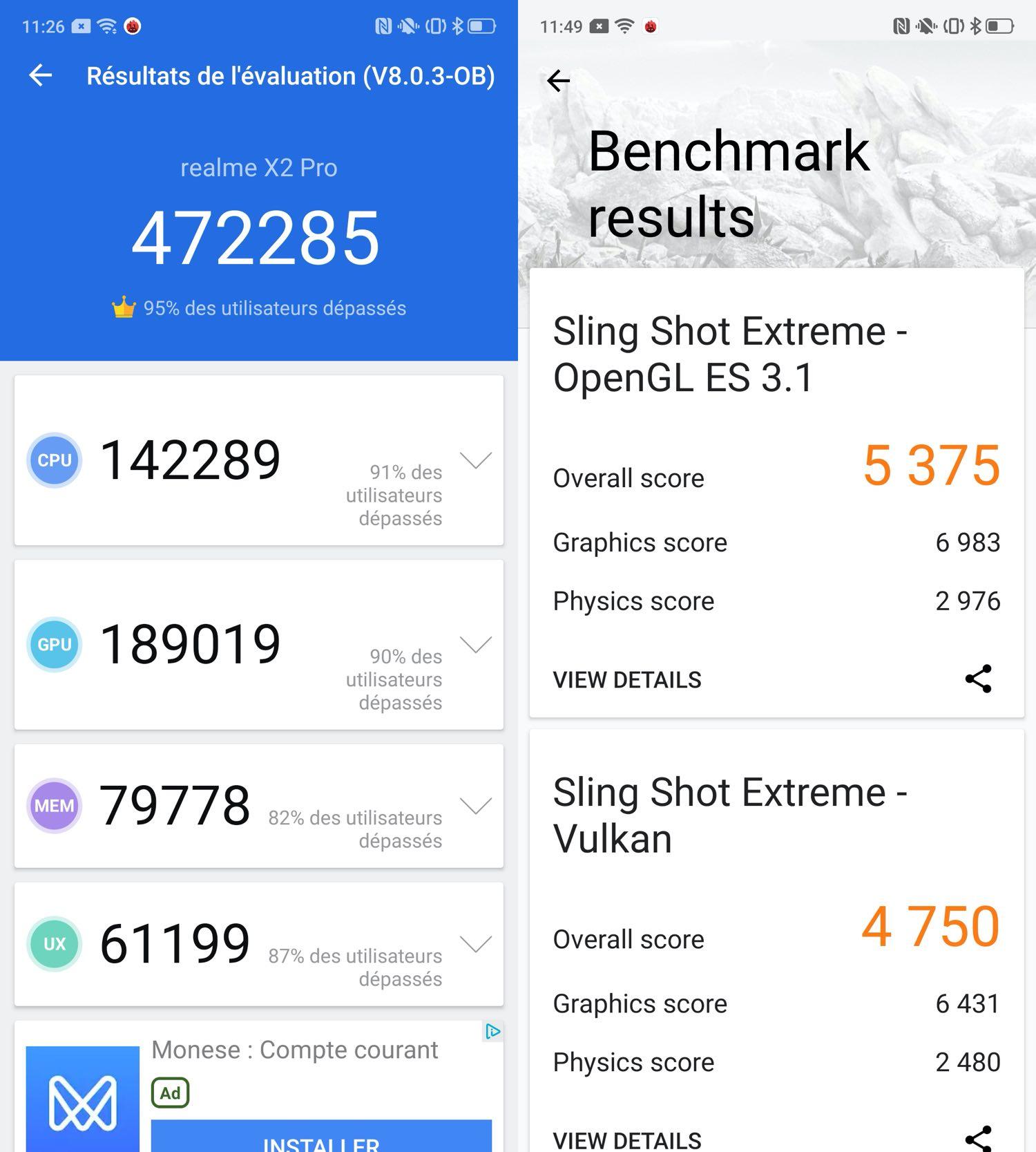 test realme x2 pro benchmarks