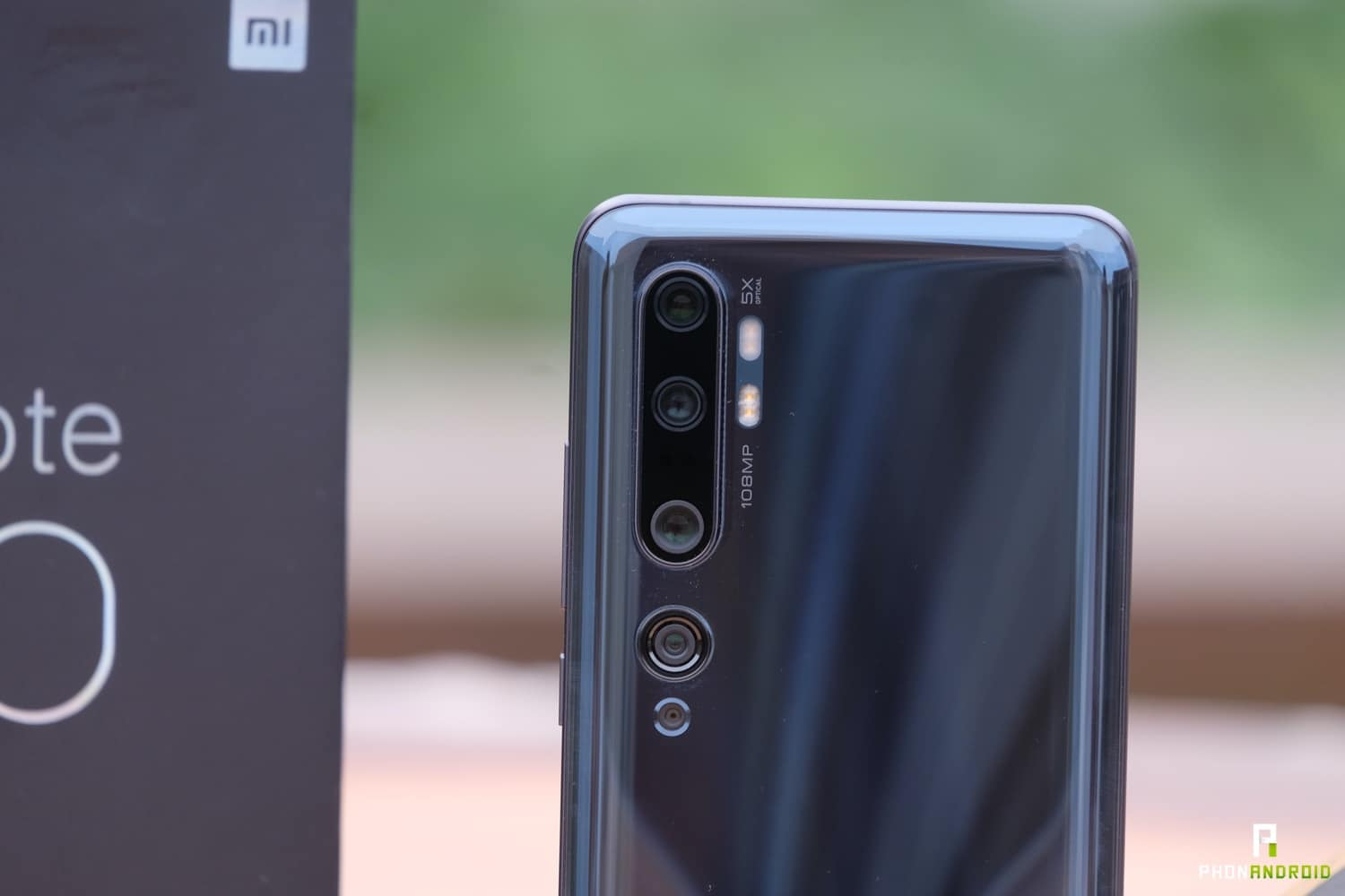 test xiaomi mi note 10 appareil photo