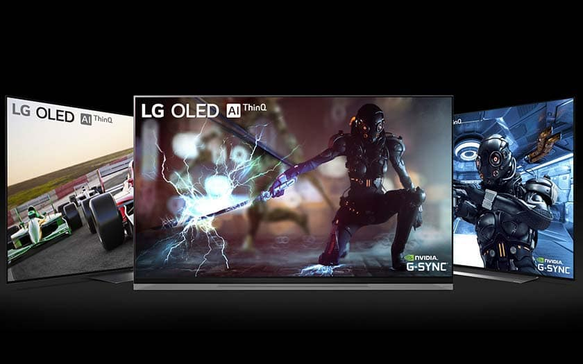 tv lg nvidia gsync smart tv oled