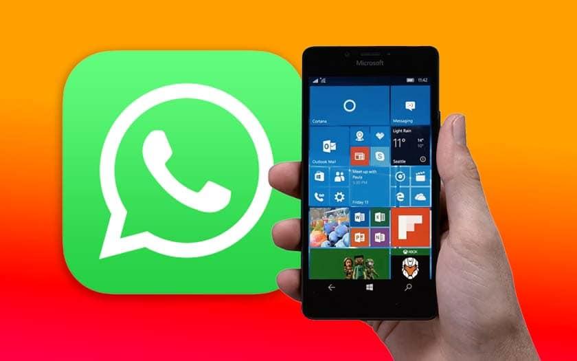 whatsapp windows phone focnionnera plus décembre 2019