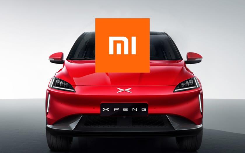 Logo Xiaomi et voiture Xpend