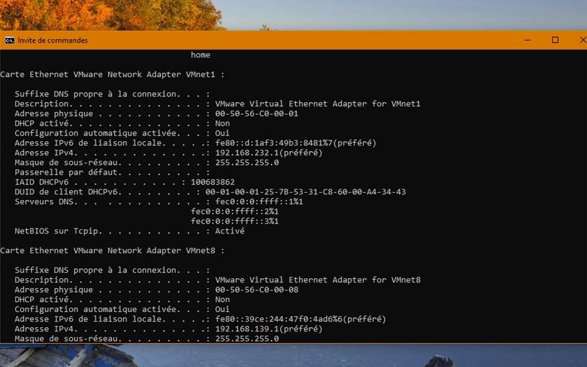 Comment Trouver adresse IP