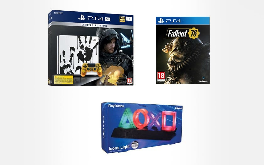 Console Sony PS4 Pro 1To Edition Limitee Death Stranding