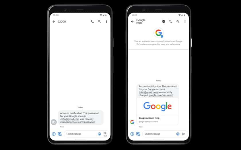 Google Messages Antispam