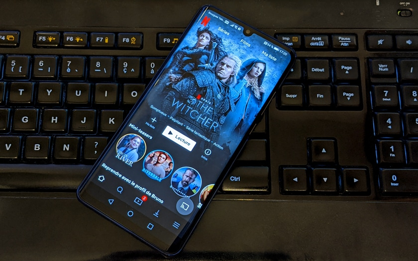 Netflix smartphone Android