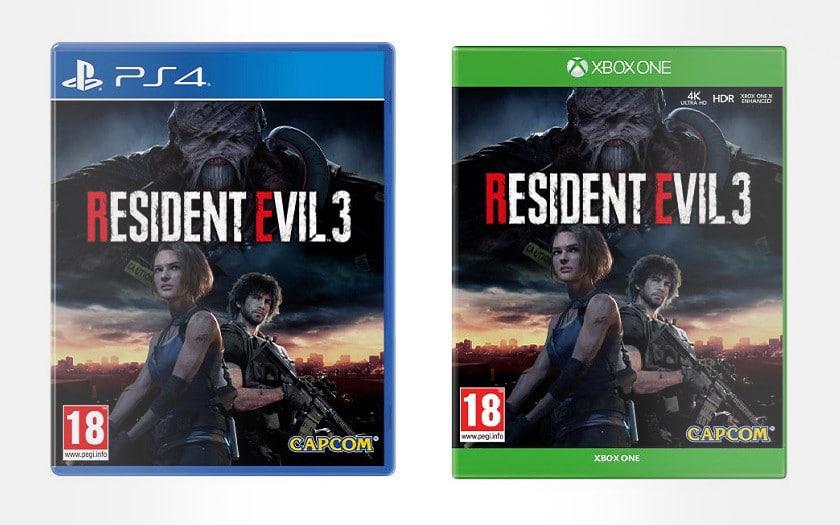 Meilleur prix Resident Evil 3 sur PS4 et Xbox One