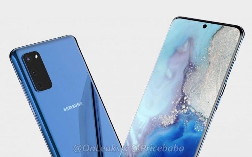 Samsung Galaxy S11 OnLeaks