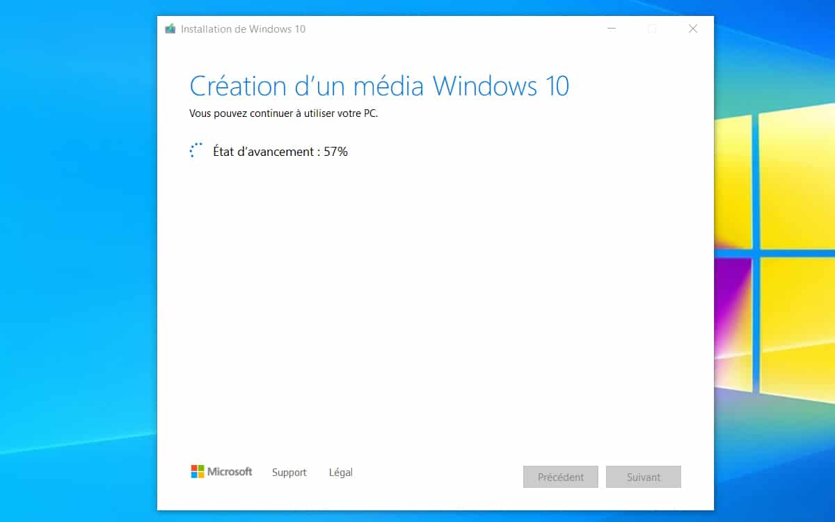 Telecharger ISO Windows 10