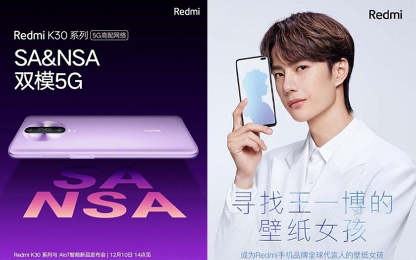 Affiche promotionnelle Xiaomi Redmi K30