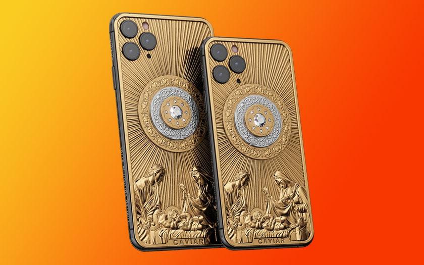 caviar iphone 11 pro diamants