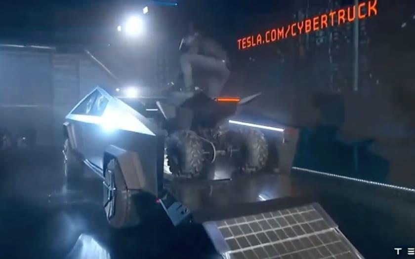 Tesla ATV Cyberquad