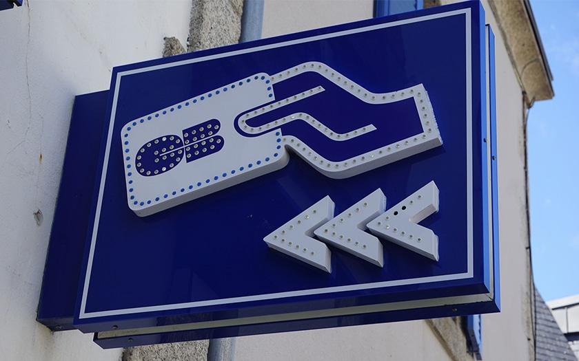 panneau indication DAB