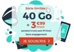forfait mobile 40 go cdiscount