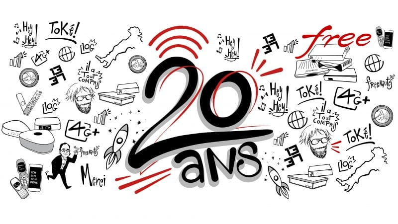 free 20 ans anniversaire