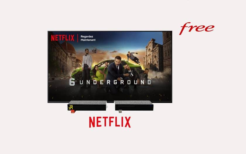 Freebox Revolution accueille Netflix