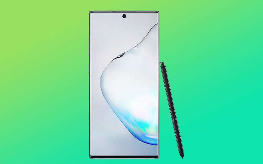 galaxy note 10 mise jour android 10 disponible