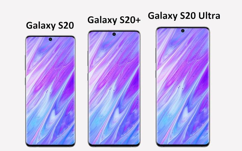 Galaxy S20, S20+ et S20 Ultra