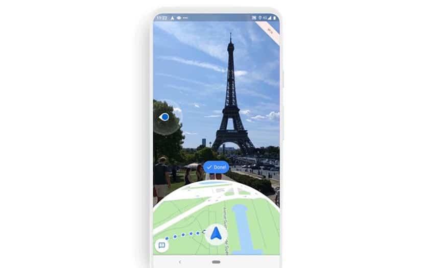 Google Maps réalité augmentée