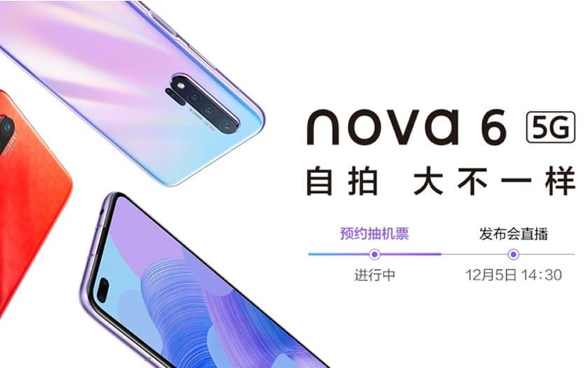 affiche commerciale huawei nova 6