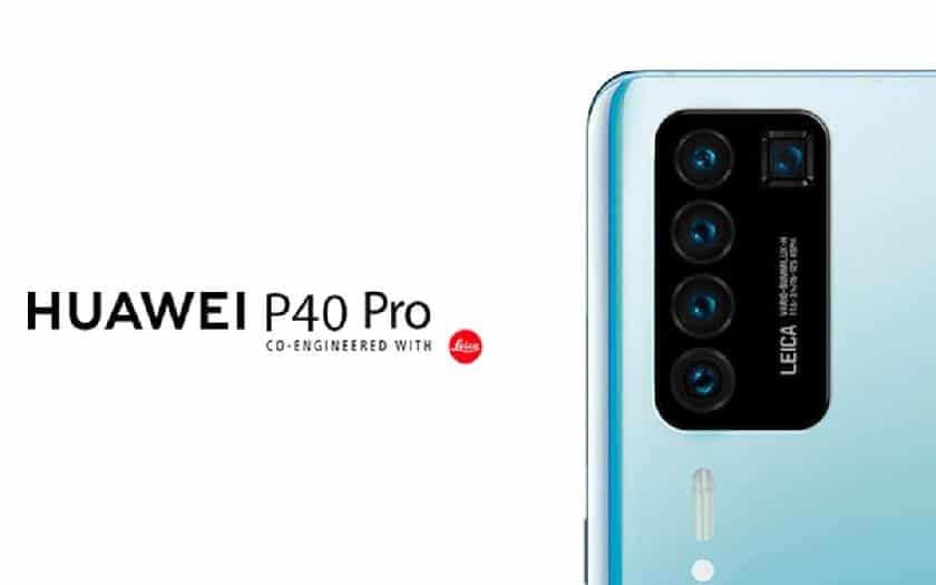 huawei p40 pro quintuple capteur photo