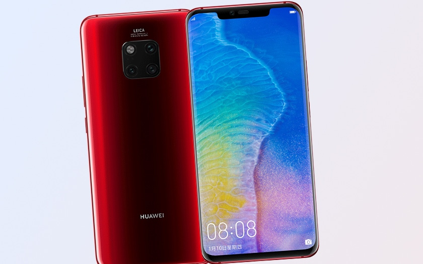 Cyber Monday 2019 sur le smartphone Huawei Mate 20 Pro