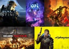microsoft liste jeux xbox 2020