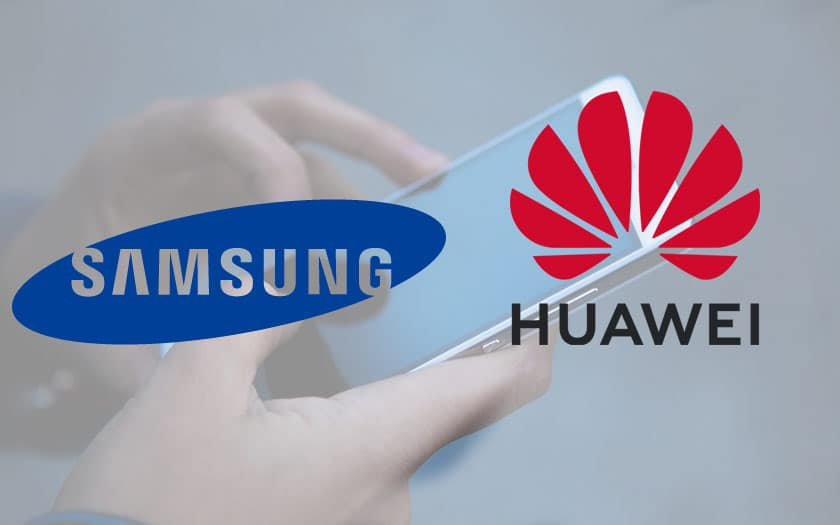 Smartphones Samsung Huawei