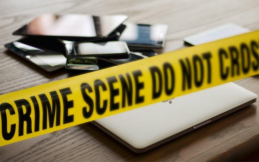Smartphone déverrouillés police