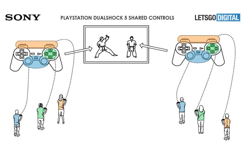 PS5 : les joueurs pourraient se partager les commandes de la DualShock 5