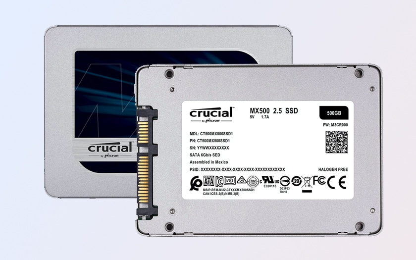 SSD Crucial 500 Go Cyber Monday