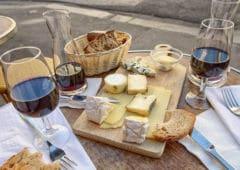 vin fromage francais