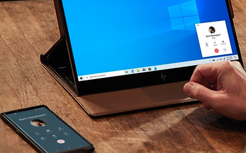 Application Votre Téléphone sur Windows 10