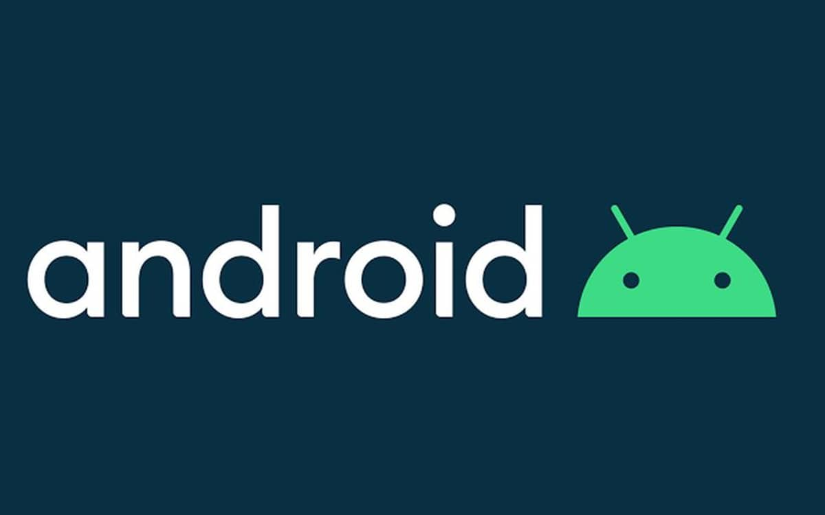 Logo Android 10