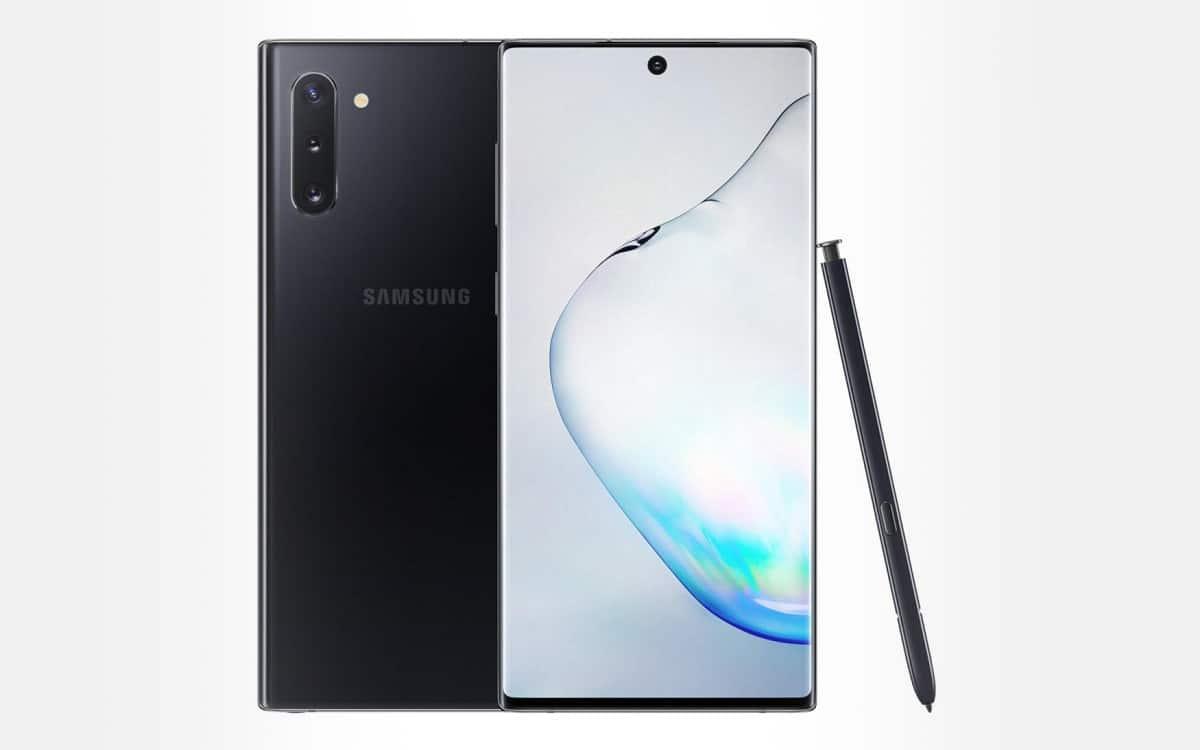 Samsung Galaxy note 10 pas chers meilleurs prix