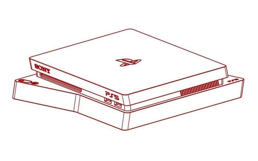 Sony PS5 croquis