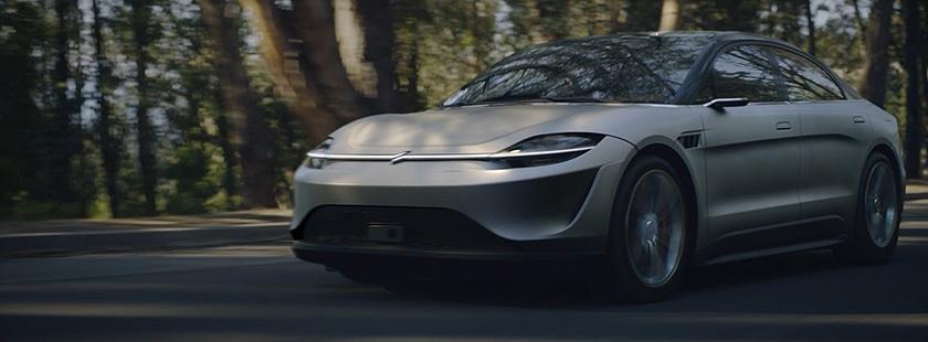 Vision-S : pourquoi la voiture électrique de Sony est la vraie nouveauté du CES 2020