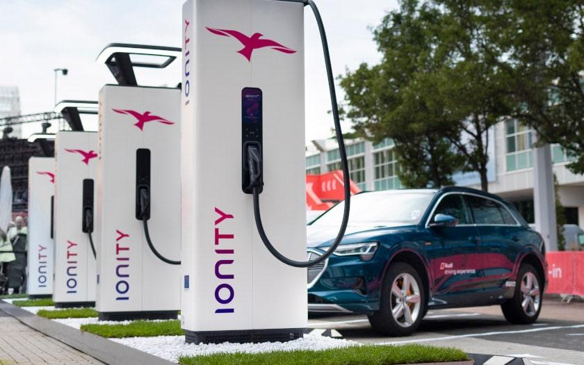 borne ionity recharge voiture electrique
